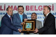 GEOGRAPHICAL ACHIEVEMENT SING AWARD WAS GİVEN FOR AKŞEHİR CHERRY