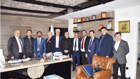 KONSİAD VISITED TO AKŞEHİR CHAMBER OF COMMERCE AND INDUSTRY